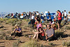 Hundreds turned out on Wahweap Overlook for the annular eclipse.