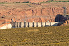 The back of the Glen Canyon dam from Wahweap Overlook. Sometimes you can get away with hand held telephoto shots.