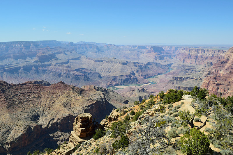 Grand Canyon looking north from the east rim. One of these days I am going down in the canyon.