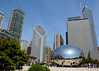 The Bean in downtown Chicago. This sculpture is very popular and is constantly swarmed by Beanies.