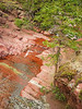 Red Rock Canyon Waterton National Park.  August 2003