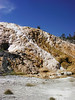 Mammoth hot springs colors