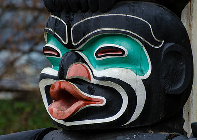 """I'm pretty sure that if a white guy had carved this totem he would be immediately """"canceled"""" for the heinous crimes of cultural appropriation and sculptural blackface but fortunately, first nation artists are exempt from woke nonsense."""