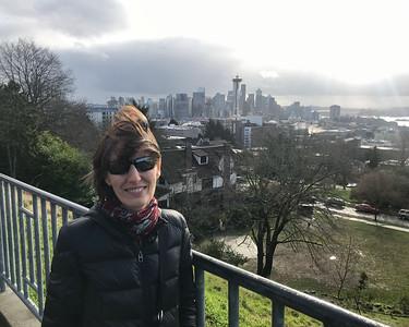 Mali Kerry Park Seattle overlook.