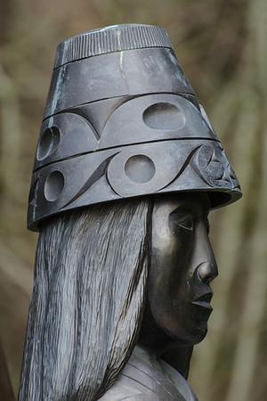 Stanley Park sculpture profile.
