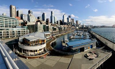 Seattle waterfront.