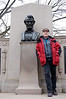 Beside Lincoln's bust commemorating the Gettysburg Address - still the greatest speech ever given by an American President.