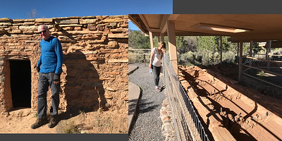 The Anasazi State Park and museum in Boulder Utah was a pleasant surprise. The museum is near an archeological dig of a 13th-century ancestral pueblo village. The dig is on the museum grounds and exposes the remaining foundation stones of the pueblo. The inhabitants abandoned the site after living in the area for about a century. Nobody knows why.