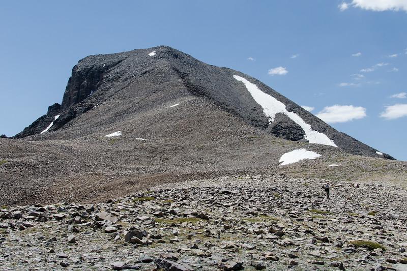 The false summit plateau.