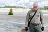 Me on the Norris Porcelain Geyser Basin walkway.