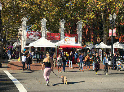 The Portland Saturday Market is a delightful freak show. People are wearing everything from elegant designer clothes to urine-soaked sleeping bags. It's like Halloween for adults.