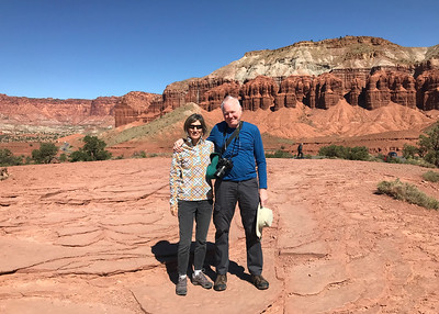 We added Capitol Reef National Park to our list this week. Capitol Reef and the nearby Eschalante National Monument are both spectacular and unlike Zion and Arches are not overrun. It helps to be a bit off the beaten path.