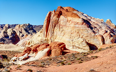 We caught White Dome in the nice morning light. I'll have to go back to the Valley of Fire and do a little hiking. If colored rocks rock you you'll find much to like here.
