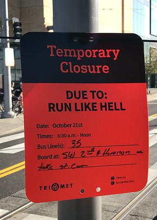 Run like Hell indeed.