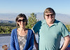 Mali and Steve Mount Charleston overlook.