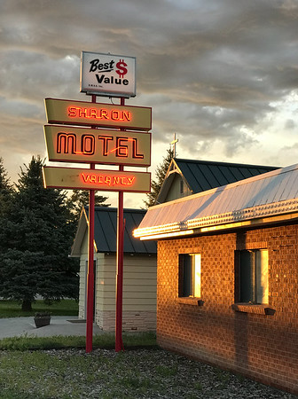 The Sharon Motel in Wells was a pleasant surprise.