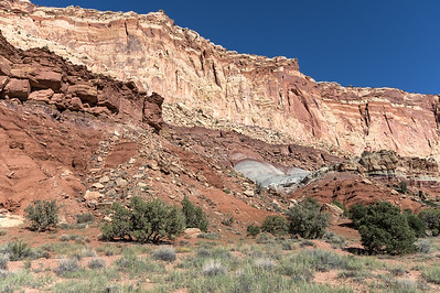 Capital Reef cliff colors.