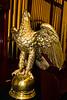 An eagle lectern in an old Virginia City church.