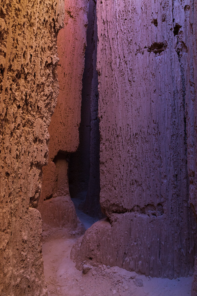 Notched, Cathedral Gorge SP