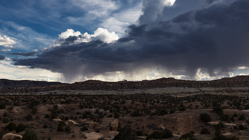 Thunderstorm in Grand Staircase-Escalante National Monument