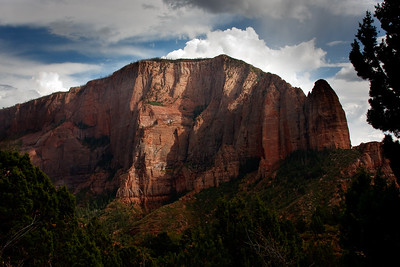 From Timber Creek Overlook - West Zion