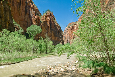 THe upper end of Zion Canyon and the Virgin River. (20090510_PX1_5690-A1)
