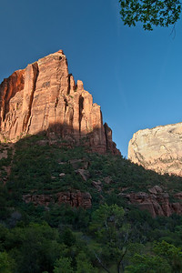 Some dusk views of the canyon from the Emerald Pools trail. (20090510_PX1_5730-A1)