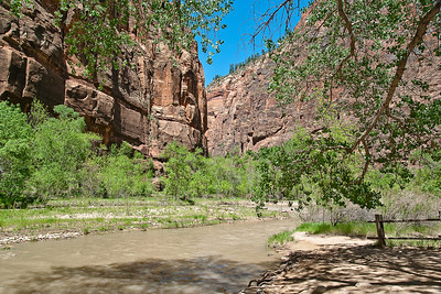 THe upper end of Zion Canyon and the Virgin River. (20090510_PX1_5697-A1)