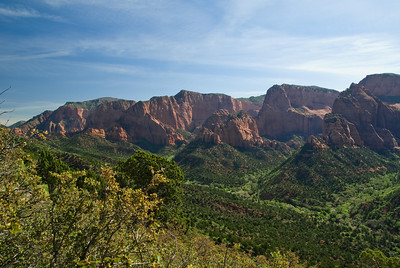 Views of the Kolob canyon and points. (20090510_PX1_5602-A1)