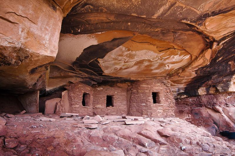 Fallen Roof Cliff Dwelling