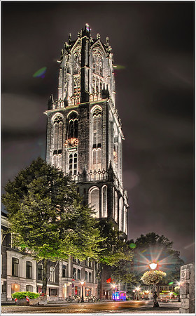 UFO over the Domtower?