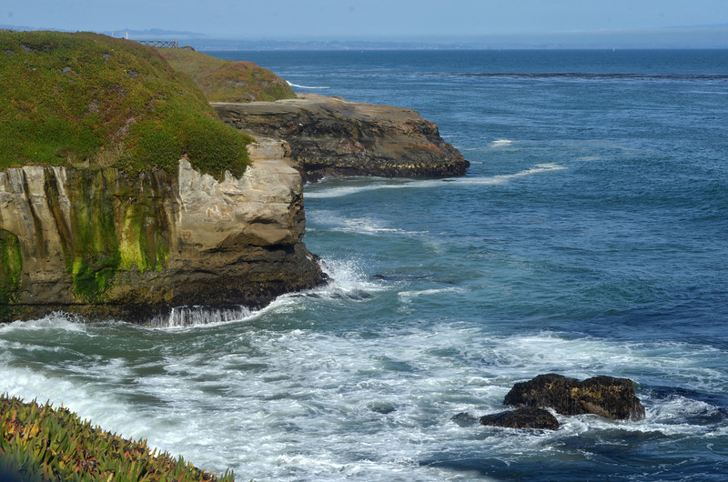 The Natural Bridges of Santa Cruz.