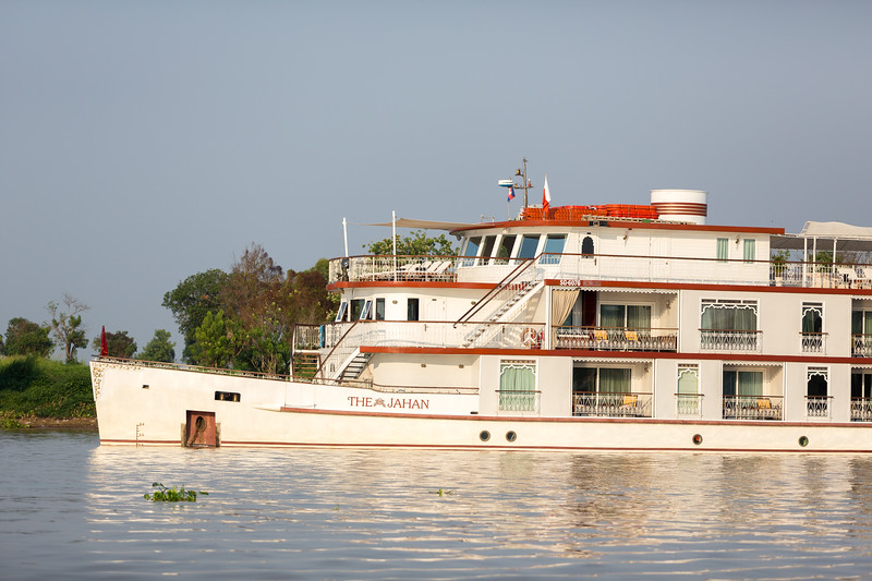 Cruising the Mekong and Tonle Sap Rivers in Cambodia and Vietnam on The Jahan with Lindblad/National Geographic.