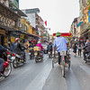 Typical traffic in Ho Chi Minh City, some of the heaviest traffic in Vietnam.