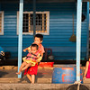 Life in the floating villages in the tonle Sap River in Cambodia