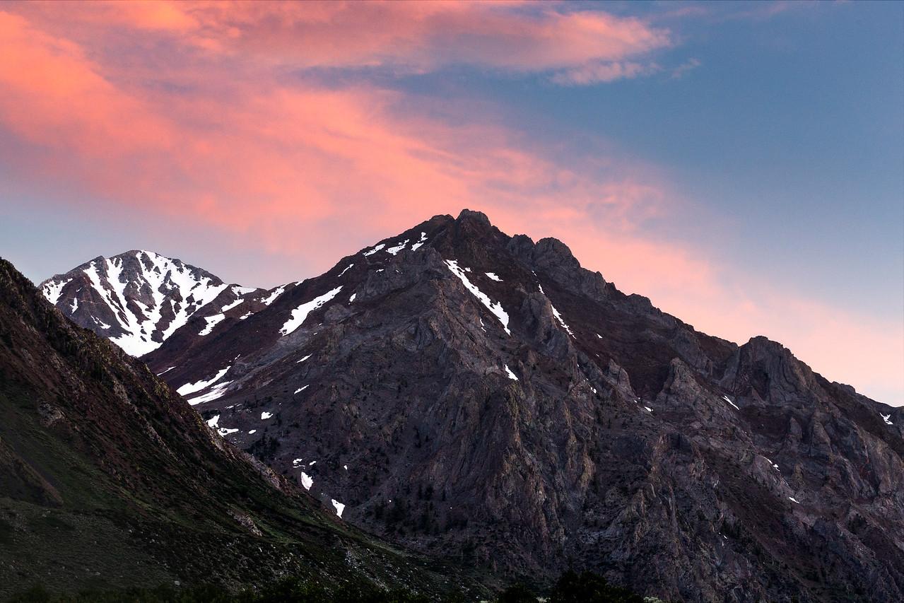 Sunset Near Nevahbe Ridge