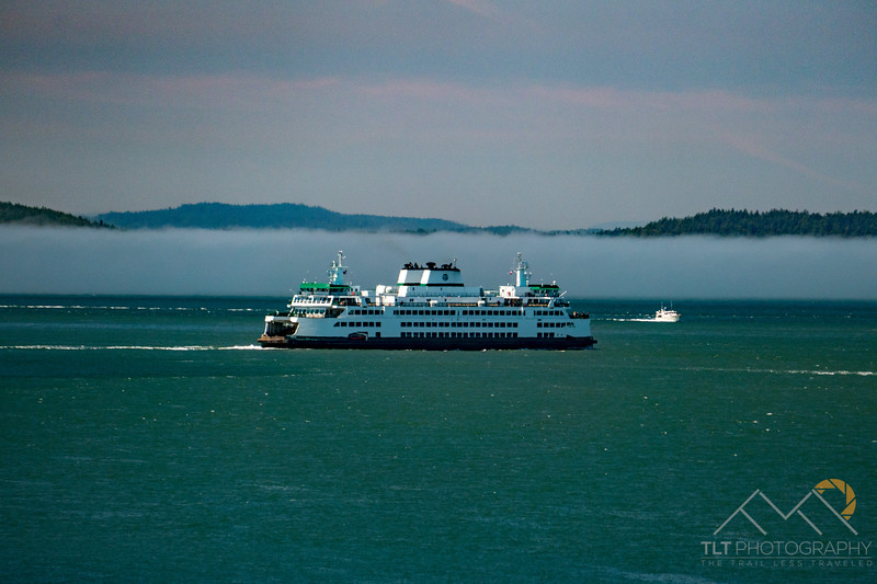 The Anacortes Ferry making a run.