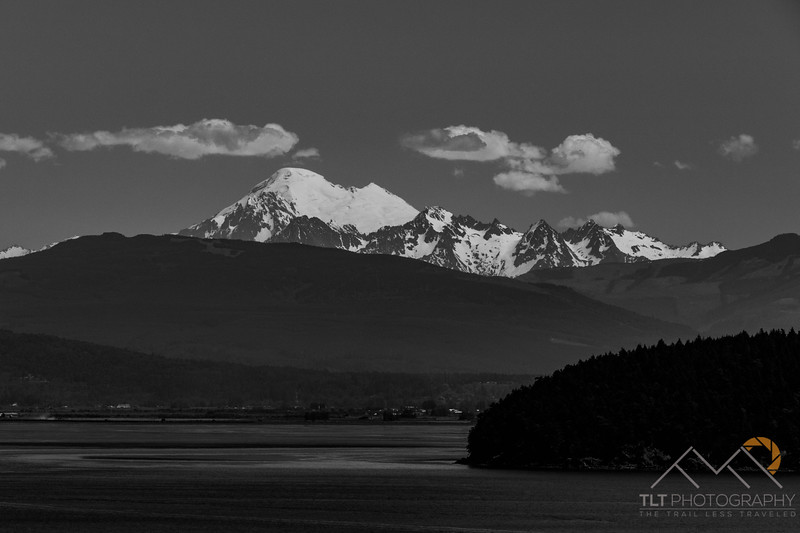 Mount Baker from Anacortes, WA.