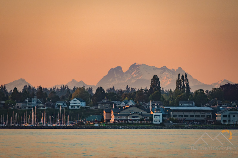 Mount Robie in BC from Bellingham, WA