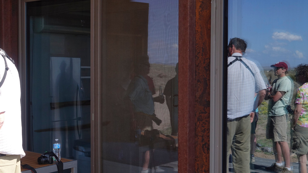 4-21-16 Reflections in Wee house - Ranch - Marfa, TX-01020