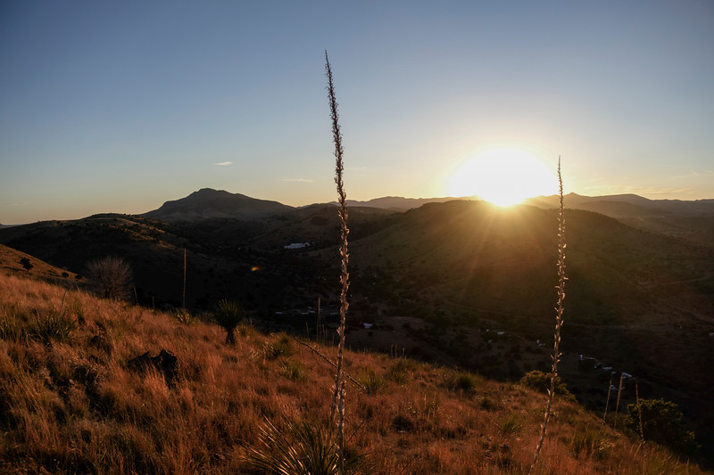 4-20-16 Scenery - Sunset - Davis Mountain SP, TX-00882