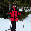 February 25th, Day 2:  we signed up for a group cross-country ski lesson.  Having tried cross-country skiing before, with no clue how to do it, we thought we'd try this approach.