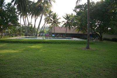 Villa at Balapitiya. Spent the new year here.