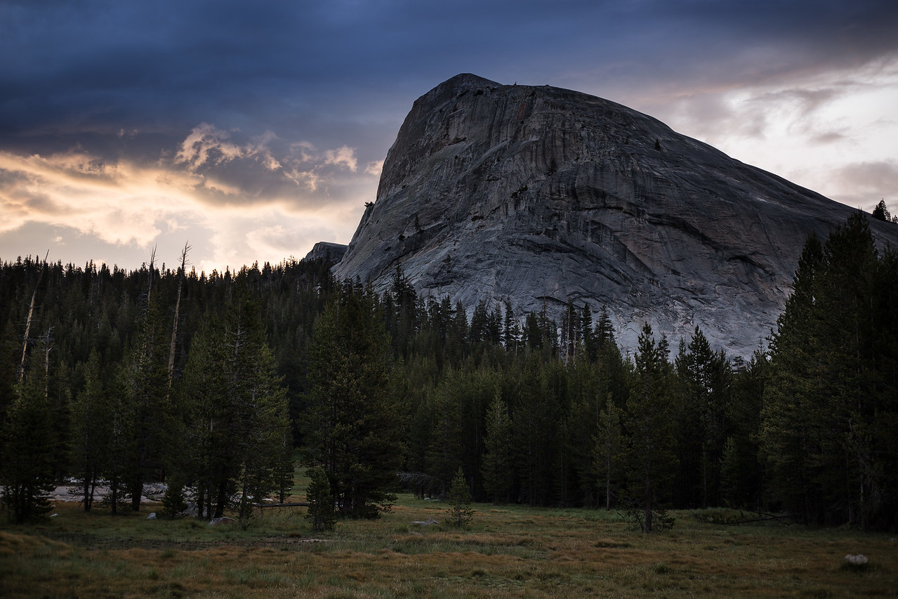 Lembert Dome from Tuolomne Meadows