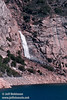 Wapama Falls over Hetch Hetchy, viewed from the dam (Wapama Falls hike, Hetch Hetchy, Yosemite NP, 3/30/2003 or 4/5/2003)