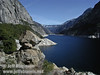 Looking east up the lake from Wapama Falls (4/5/2003, Hetch Hetchy, Lynda's photo)