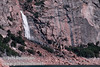 Wapama Falls, viewed from the dam (Wapama Falls hike, Hetch Hetchy, Yosemite NP, 3/30/2003 or 4/5/2003)