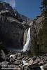 Lower Yosemite Fall. Seen from the bridge below Lower Yosemite Fall. (3/29/2010, Yosemite NP)