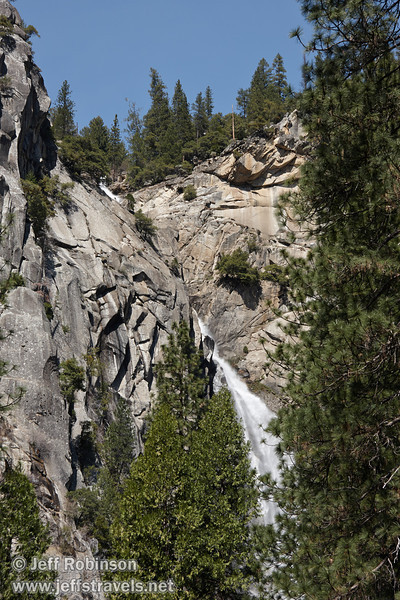 The Cascades, which is the result of Cascade Creek and Tamarack Creek joining. Seen from near the Tamarack/Cascade Creek bridge on highway 140. (3/28/10, Yosemite NP)