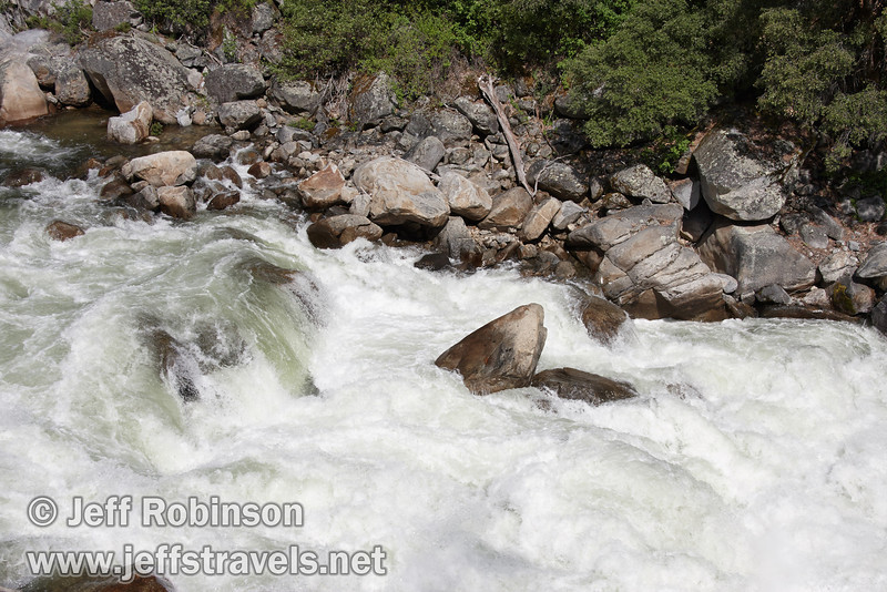 White water rushing down the Merced River. Seen from a turnout on El Portal Road (highway 140) (5/15/2010, Yosemite NP)<br /> EF-S17-85mm f/4-5.6 IS USM @ 35mm f13 1/250s ISO100